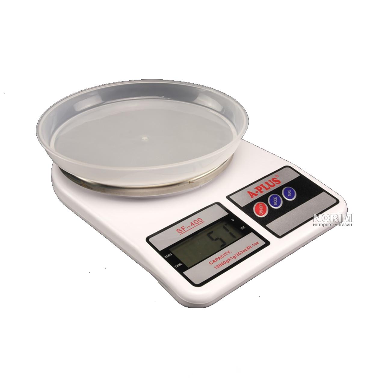 Весы кухонные с чашей A-PLUS до 10 кг (1679)