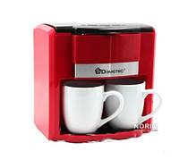 Кофеварка + чашки Domotec (MS-0705)