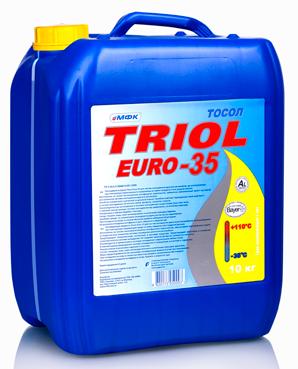 Тосол Триол Евро-35, налив