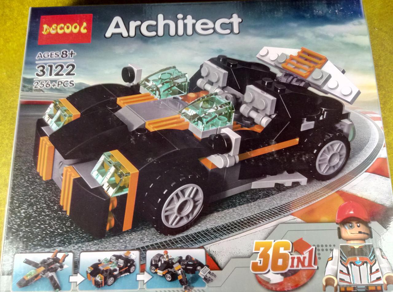 """Конструктор Decool 3122 Architect  """"36 в 1 """""""