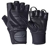 Рукавички для фітнесу PowerPlay 1064 Чорні XL, фото 1
