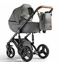 Универсальная детская коляска 2в1Verdi Orion 02 Dark grey
