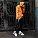 Худи мужское Адидас (Adidas) оранжевый, фото 3