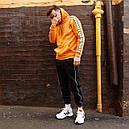 Худи мужское Адидас (Adidas) оранжевый, фото 9
