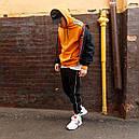 Худи мужское Адидас (Adidas) оранжевый, фото 10