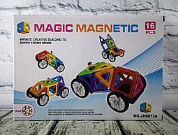 Конструктор Магнитный 16 дет. В коробке JH6873A