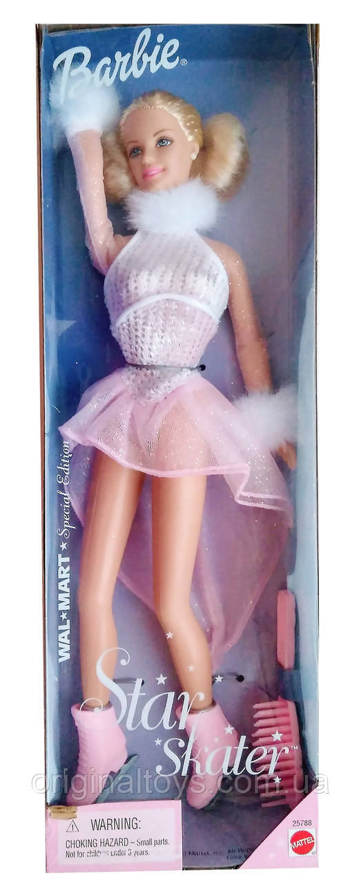 Коллекционная кукла Барби Фигуристка Barbie Star Skater 2000 Mattel 25788