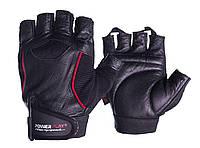 Рукавички для фітнесу PowerPlay 2127 Чорні S, фото 1