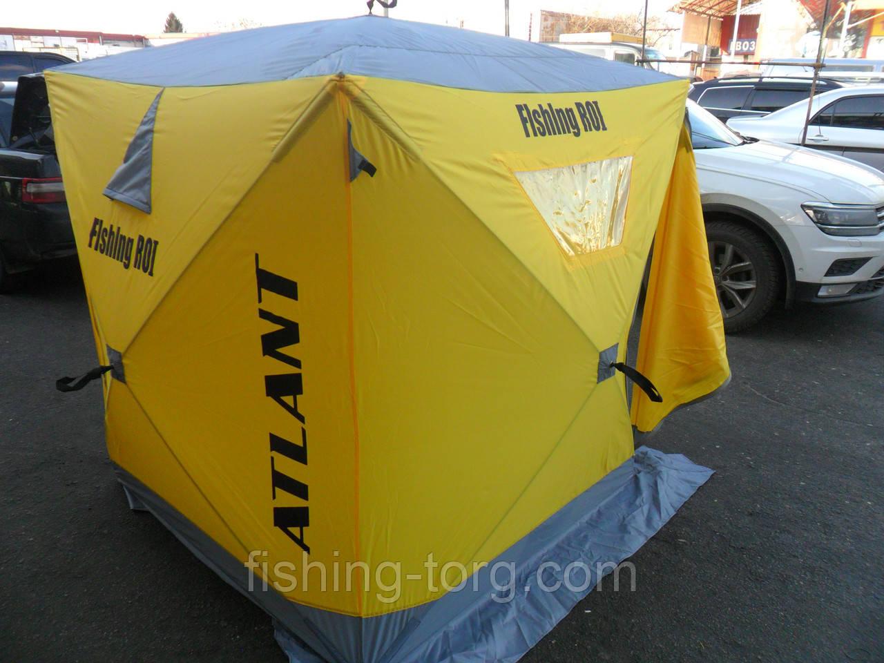 """Палатка универсальная  Куб """"Fishing ROI"""" CYCLONE (150*150*170см)"""