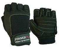 Рукавички для фітнесу PowerPlay 1588 D Чорні XL, фото 1