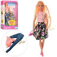 Кукла DEFA с нарядом, обувь, 2 вида, в кор.21*32*6,5см (24шт)(8383-BF)