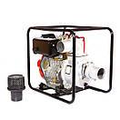 Мотопомпа дизельная WEIMA WMCGZ100-30 E (9,5 л.с.,120 м3/ч, электростартер, 100 мм), фото 5
