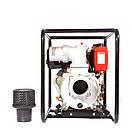 Мотопомпа дизельная WEIMA WMCGZ100-30 E (9,5 л.с.,120 м3/ч, электростартер, 100 мм), фото 6