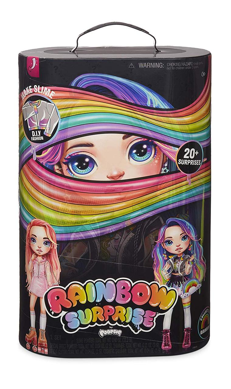 Набор с куклой Poopsie Rainbow Surprise Girls S1 Poopsie Rainbow Girls Пупси слайм Радужная или Розовая Леди