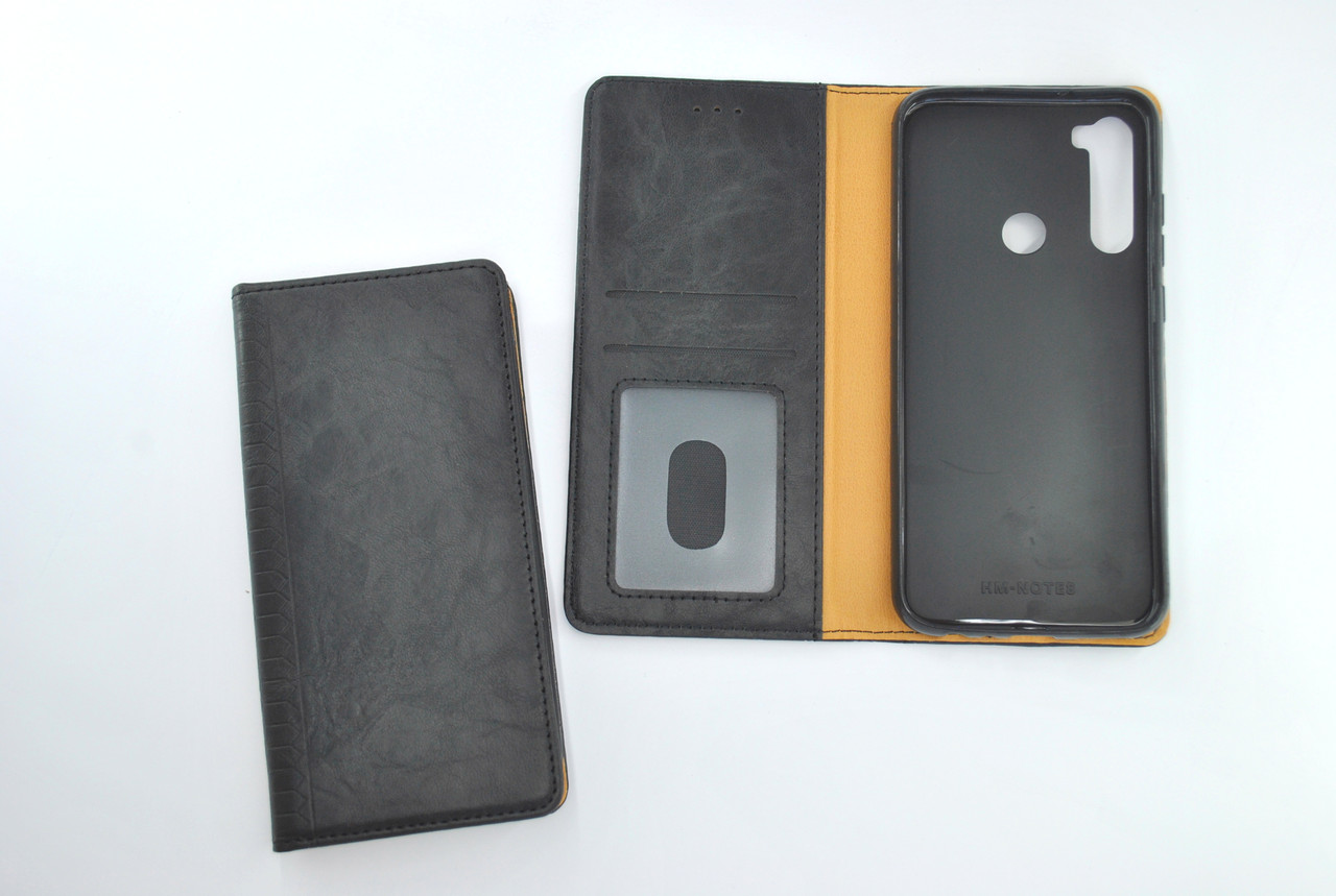 Чехол-книжка Flip Cover for Xiaomi Redmi 8A WALL Black