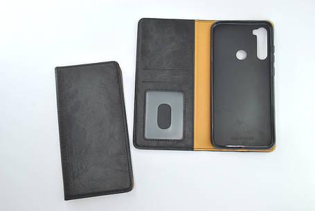 Чехол-книжка Flip Cover for Xiaomi Redmi Note 7 WALL Black, фото 2