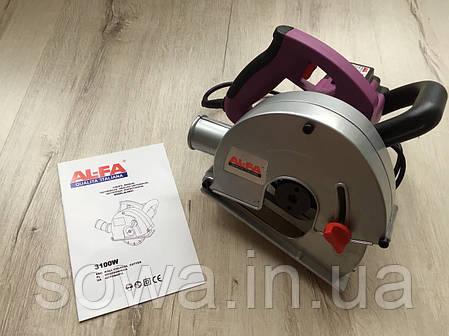✔️ Штроборез AL-FA 150-ALBR31  | 3100Вт, 4000об/мин, фото 2