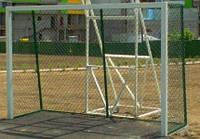 Ворота мини футбольные, гандбольные 3000х2000 уличные с сеткой рабица