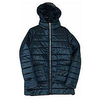 Демисезонная женская куртка с накладным карманом, модель Юлия, изумрудная, размеры 48 - 54
