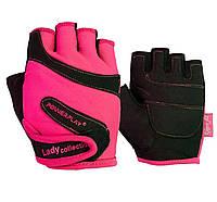Рукавички для фітнесу PowerPlay 1729 жіночий Розові S, фото 1