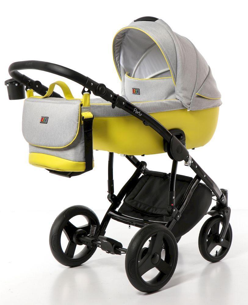 Детская универсальная коляска 2 в 1 Broco Porto 01