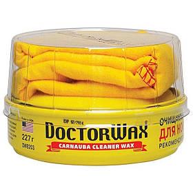 Полироль-защита Doctor Wax 8203 пастообразная очищающая с воском «Металлик» 227 г
