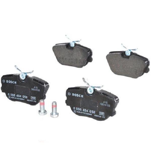 Тормозные колодки Bosch дисковые передние MB 190(W201) 0986494058