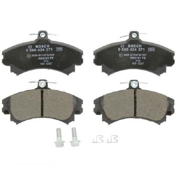 Тормозные колодки Bosch дисковые передние MITSUBISHI Carisma 1.6i,1.8i/Colt 1.3,1.5 0986424371