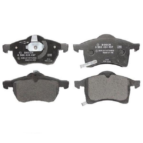 Тормозные колодки Bosch дисковые передние OPEL Astra Zafira 1.6i,1.8i,2.0,2.2i -05 0986424457