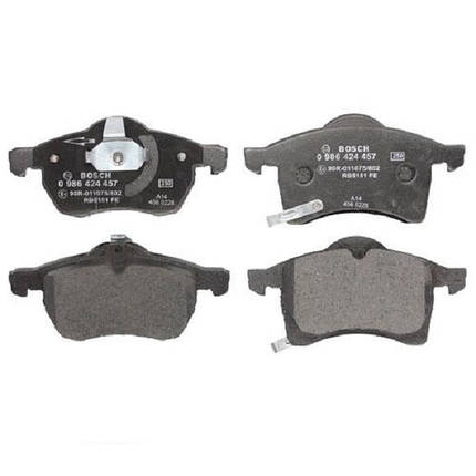 Тормозные колодки Bosch дисковые передние OPEL Astra Zafira 1.6i,1.8i,2.0,2.2i -05 0986424457, фото 2