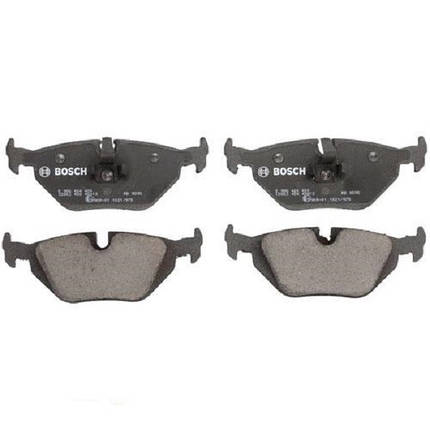 Тормозные колодки Bosch дисковые задние BMW 3 320i,d,323i,318i,328Ci,xi -07 0986424484, фото 2