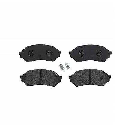 Тормозные колодки Bosch дисковые передние MAZDA 323 1.3i,1.5i,1.6i -03 0986424610, фото 2