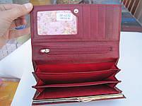 Женский кожаный кошелек Balisa PY-G132 Purpleish Red купить дешево кожаные женские кошельки BALISA, фото 4