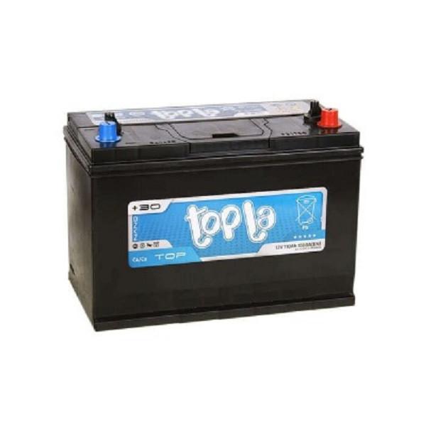 Автомобільний акумулятор Topla 110 Ah/12V TOP (0) R+ John Deere, болт (118610)