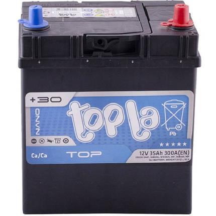 Автомобильный аккумулятор Topla 35 Ah/12V Energy Japan Euro (0) (118835), фото 2