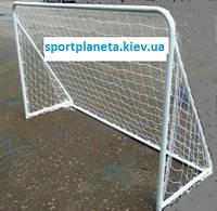Ворота футбольные детские стальные 1.8*1.2*07