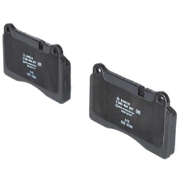 Тормозные колодки Bosch дисковые передние VW Touareg 02-10 0986494207