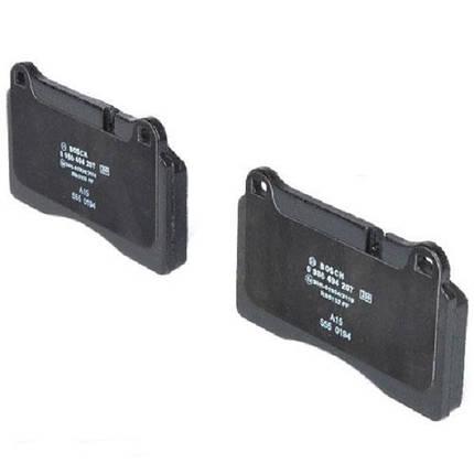 Тормозные колодки Bosch дисковые передние VW Touareg 02-10 0986494207, фото 2