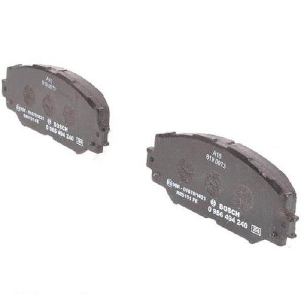 """Гальмівні колодки Bosch дискові передні TOYOTA Corolla/RAV 4/Urban Cruiser """"F """"1,3 0986494240"""