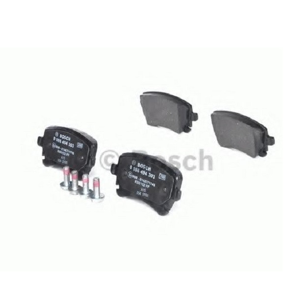 Гальмівні колодки Bosch дискові задні AUDI A6 S6 -07 0986494303