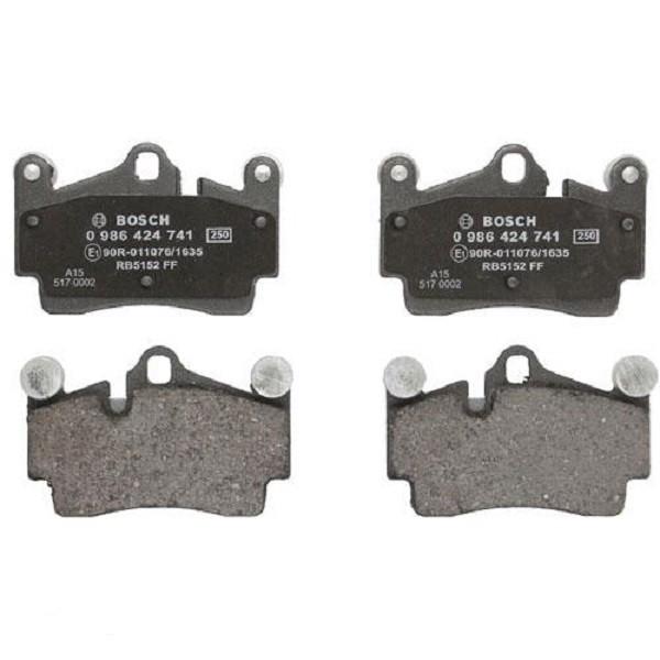 Тормозные колодки Bosch дисковые задние AUDI/PORSCHE/VW Q7/Cayenne/Touareg ''R ''>>0 0986424741