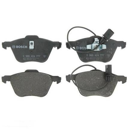 Тормозные колодки Bosch дисковые передние FORD Galaxy/SEAT Alhambra /VW Transporter T4 0986424777, фото 2