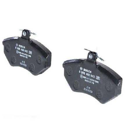 Тормозные колодки Bosch дисковые передние AUDI Cabriolet/SEAT Toledo/Ibiza/Cordoba/VW 0986460943, фото 2