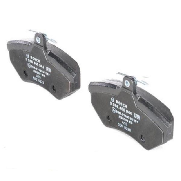 Гальмівні колодки Bosch дискові передні AUDI Cabriolet/A4/SEAT Toledo/Ibiza/Cordoba 0986460944