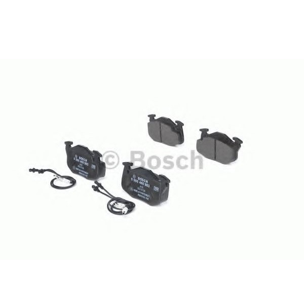 Тормозные колодки Bosch дисковые передние CITROEN ZX AX/PEUGEOT 306 -97 0986460983