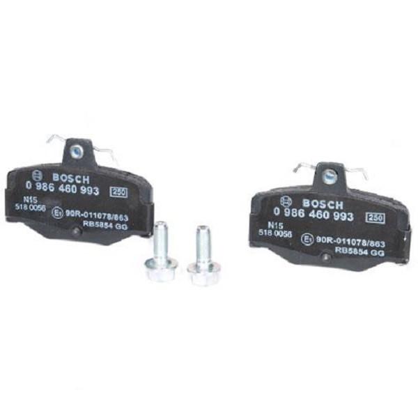 Тормозные колодки Bosch дисковые задние NISSAN Primera -01 0986460993