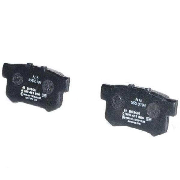 Тормозные колодки Bosch дисковые задние HONDA NSX 3.0i, Legend 3.2i,Accord,Civic/ROV 0986461006