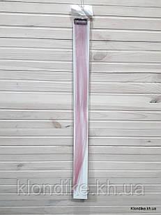Накладная прядь на заколке, прямая, 40×5 см, Цвет: Морсала