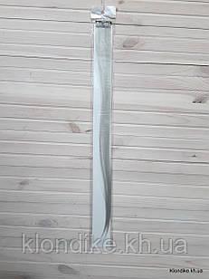 Накладная прядь на заколке, прямая, 40×5 см, Цвет: Серый