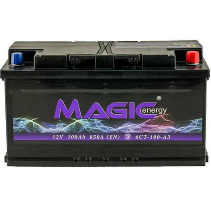 Автомобильный аккумулятор Magic Energy 100 Ah/12V (MGT100-M00), фото 2
